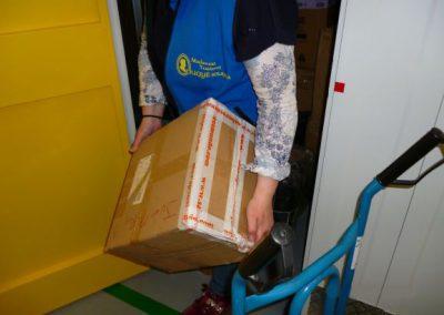 Servicio recepcion o entrega de mercancías